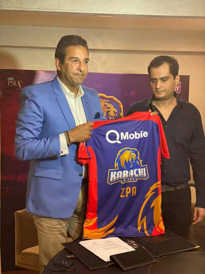 QMobile Signs Sponsorship Deal with PSL Karachi Kings