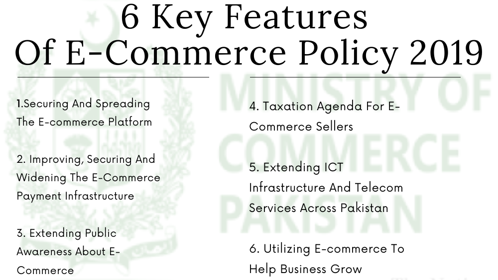 Photo of 6 Key Features Of Pakistan's E-Commerce Policy 2019