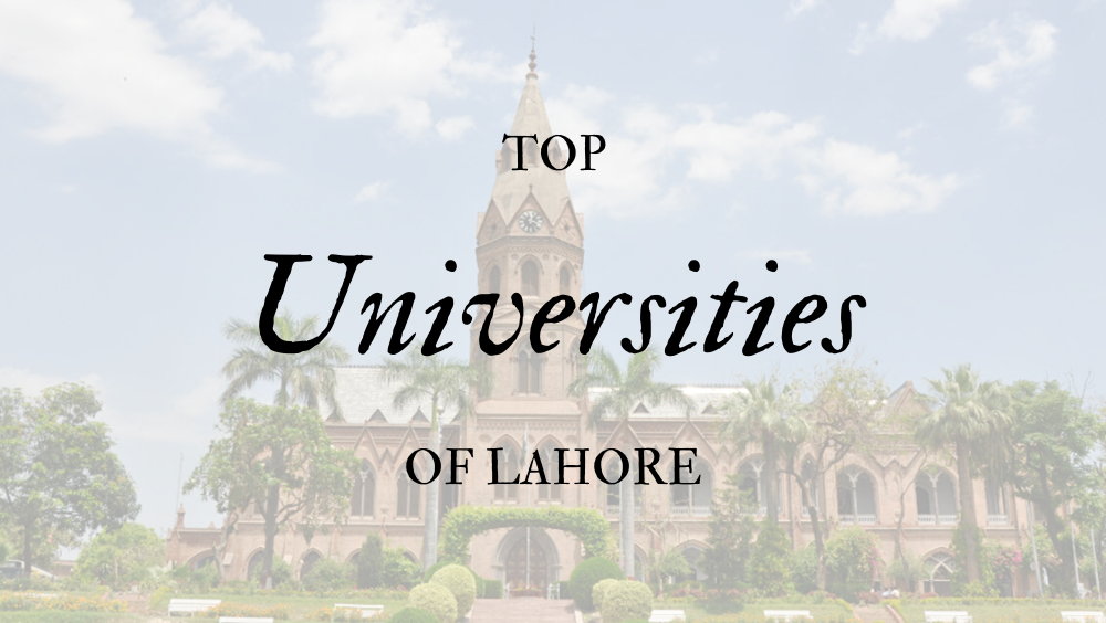 Photo of Top 20 Universities Of Lahore In 2020