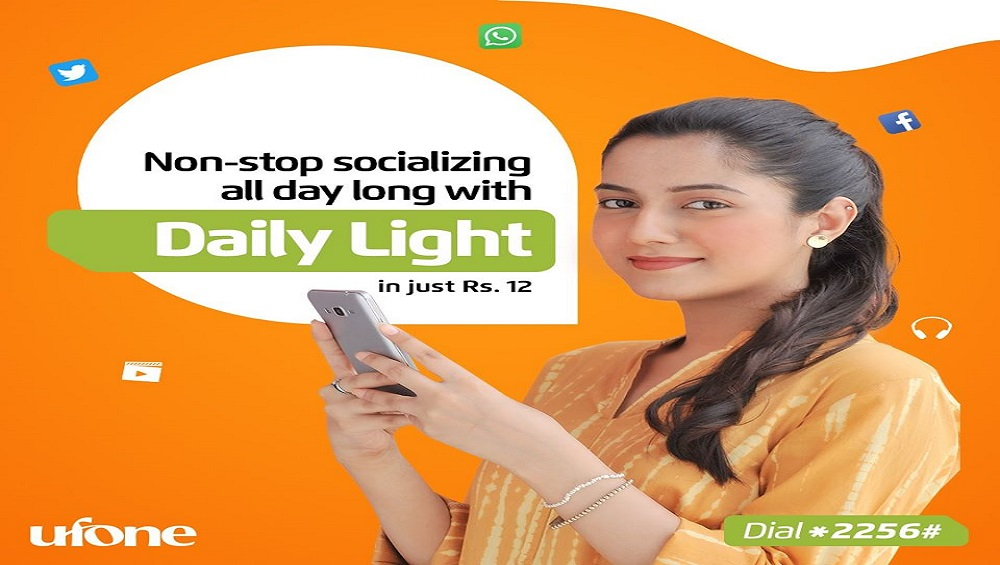 Enjoy Ufone Non-Stop Socializing All Day Long