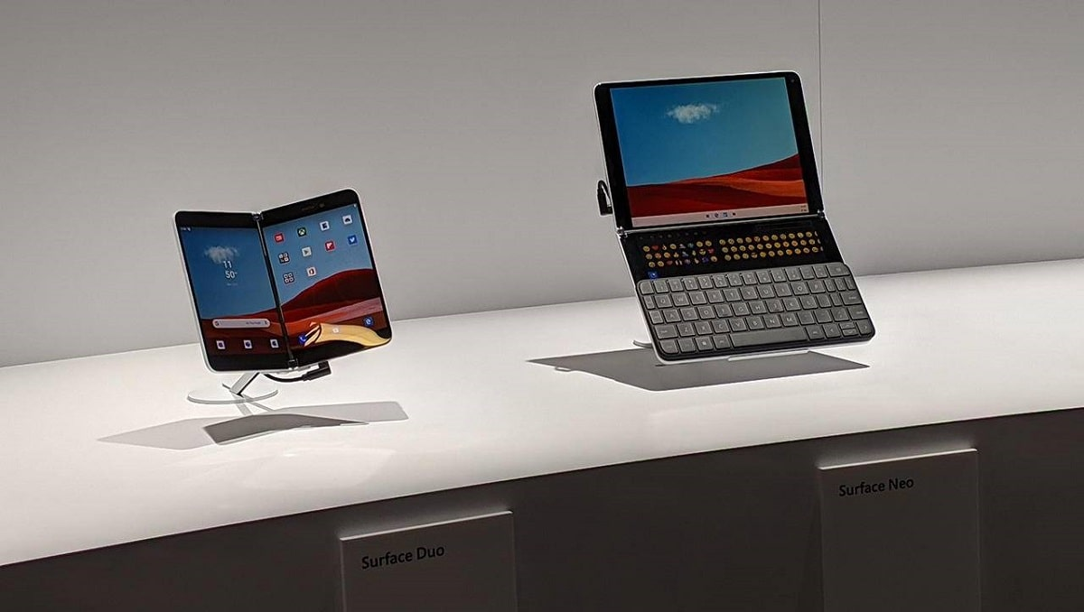 Photo of Microsoft Patent of Surface Neo and Duo's Folding Mechanism Revealed
