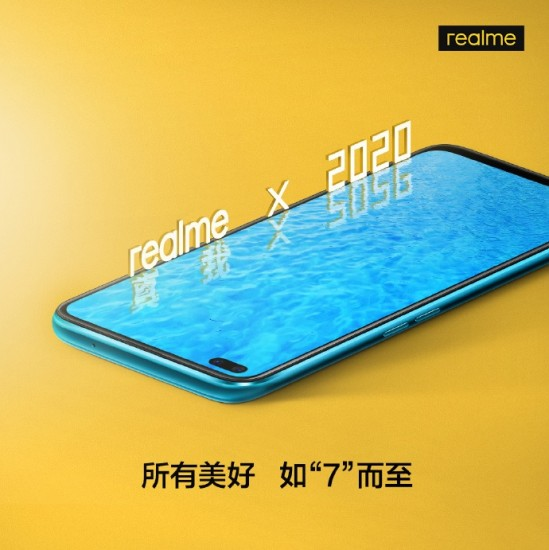 Realme X50 5G Front