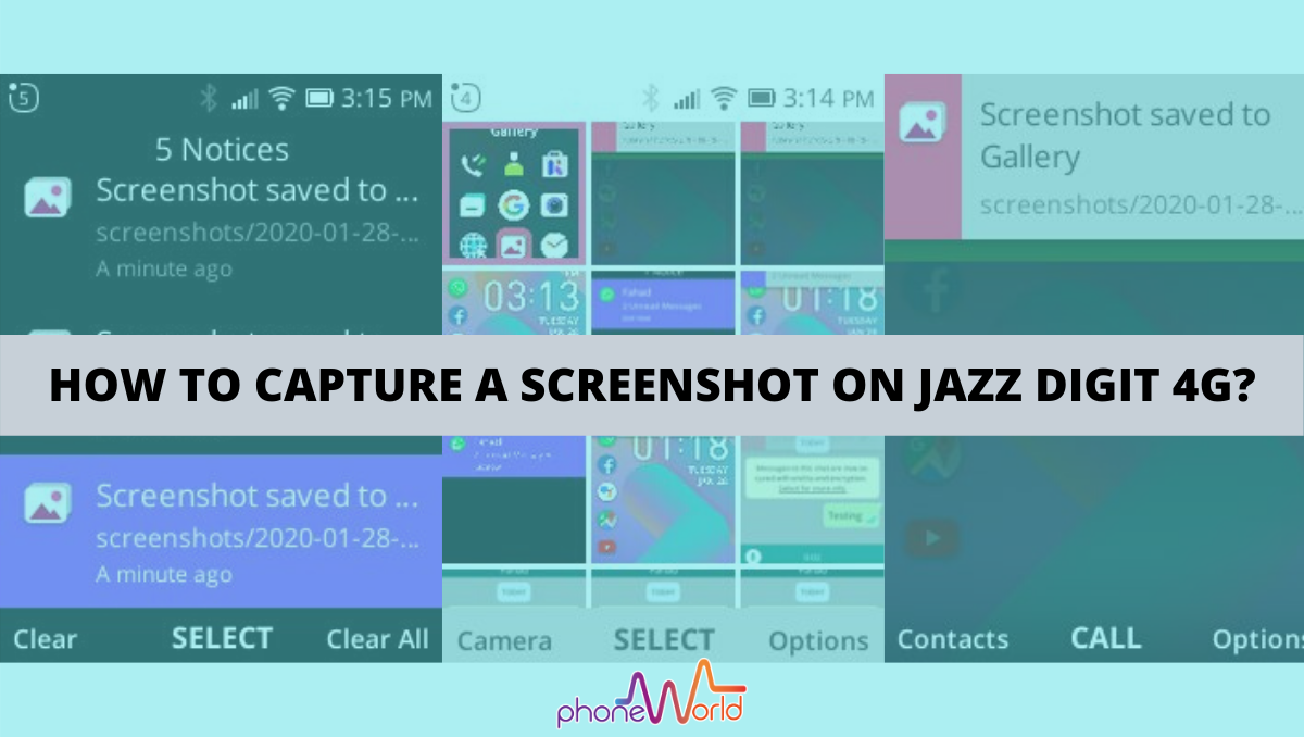 TAKE SCREENSHOT JAZZ DIGIT 4G