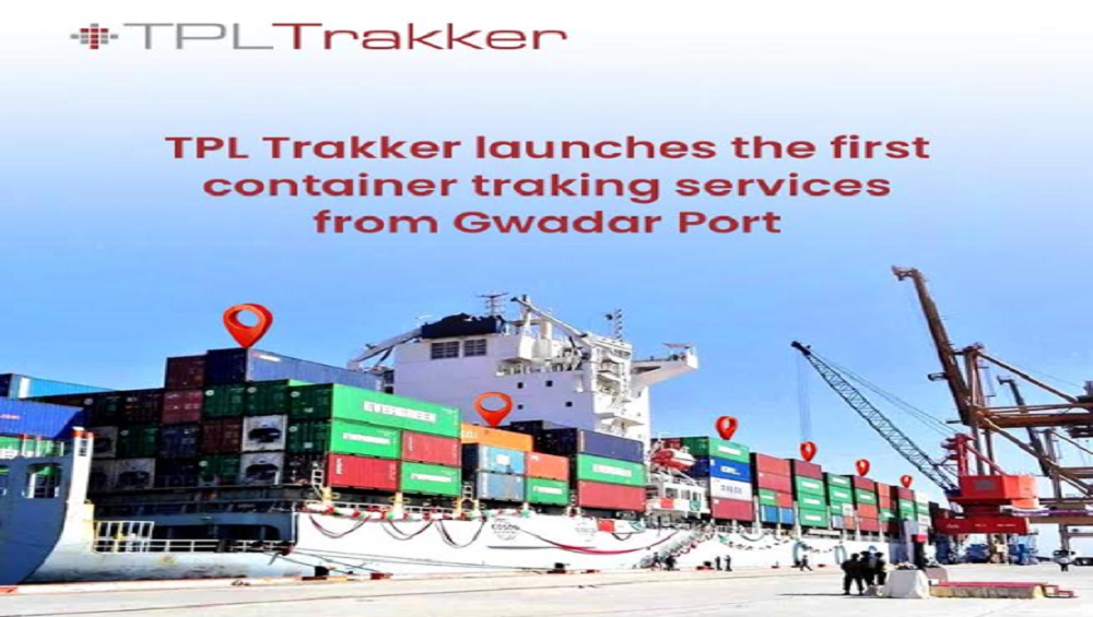 TPL Trakker launches the first container tracking services from Gwadar Port