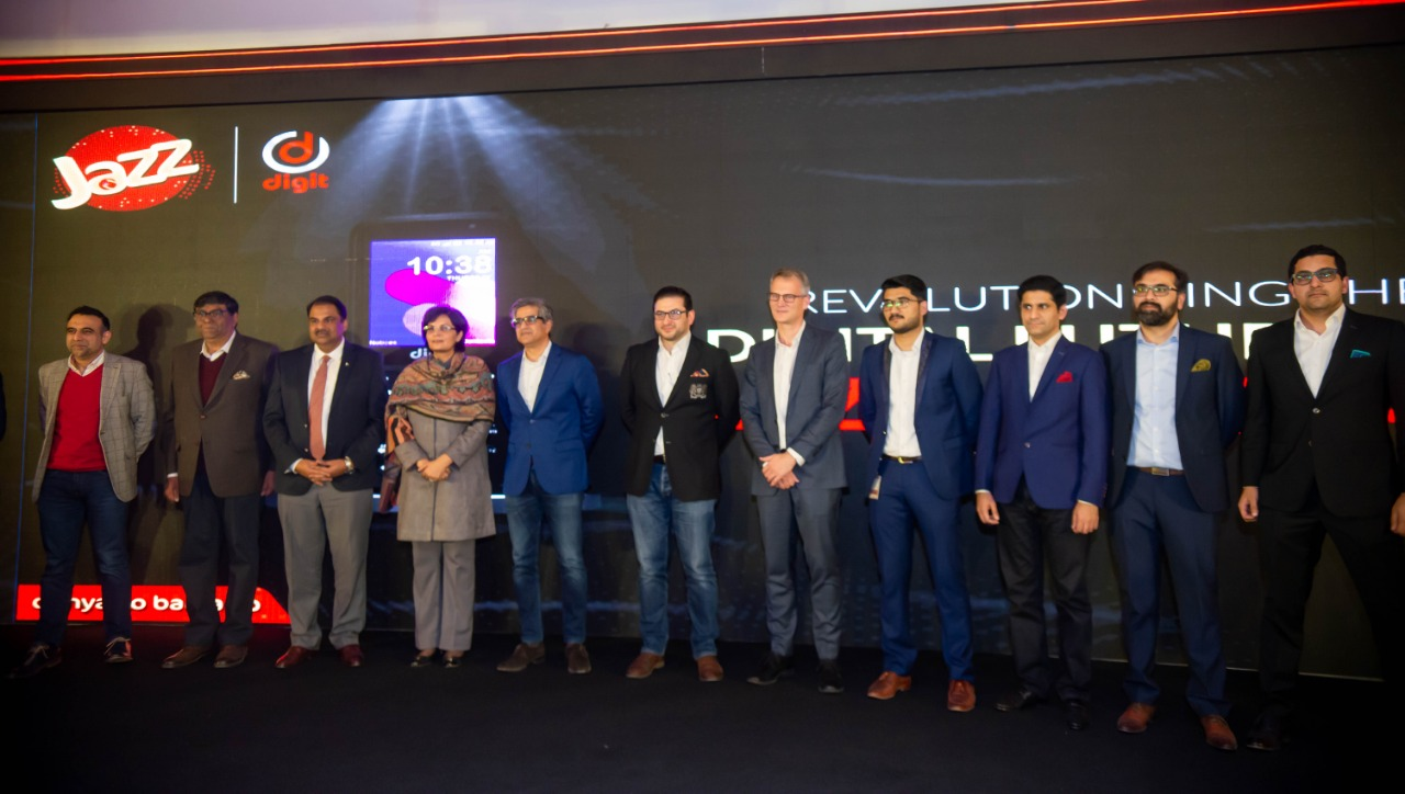 Jazz Digit 4G launch