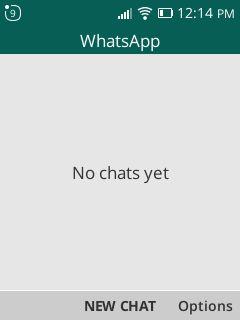 whatsapp home digit 4g