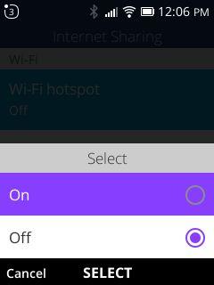 turn on wifi hotspot