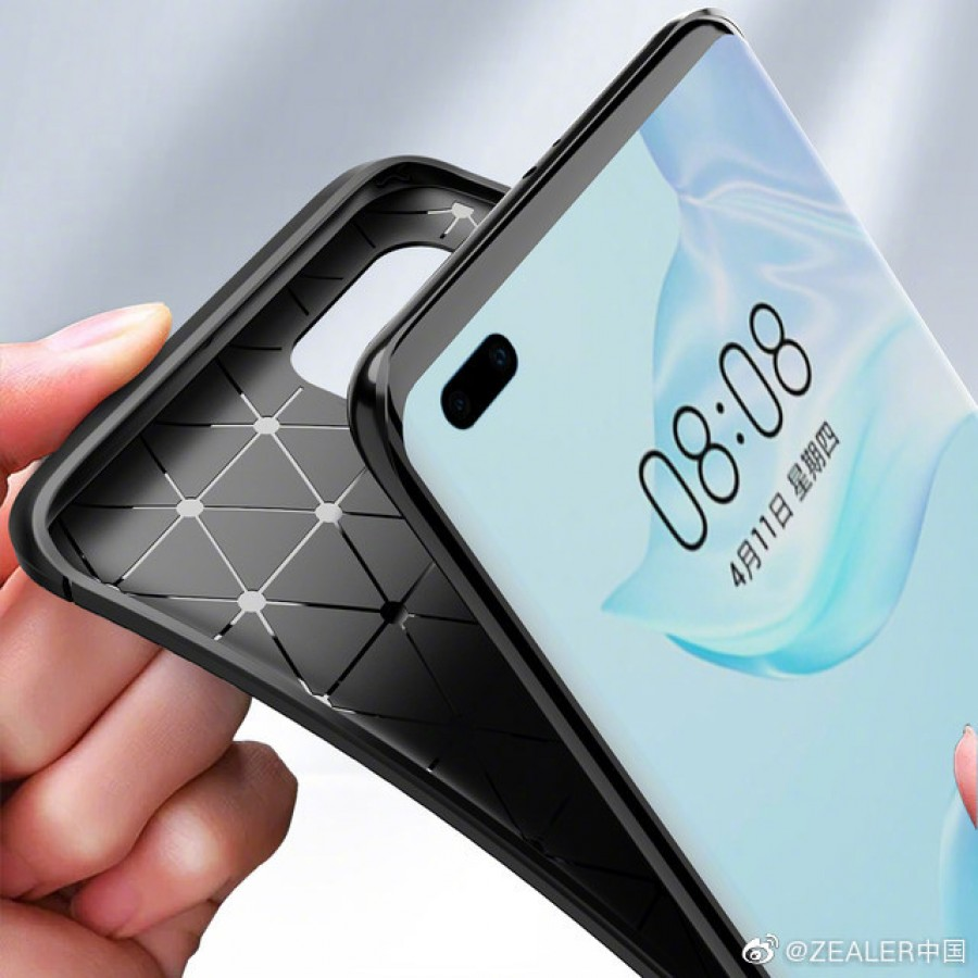 Images of Huawei P40 Pro Case Reveals Penta Camera Setup