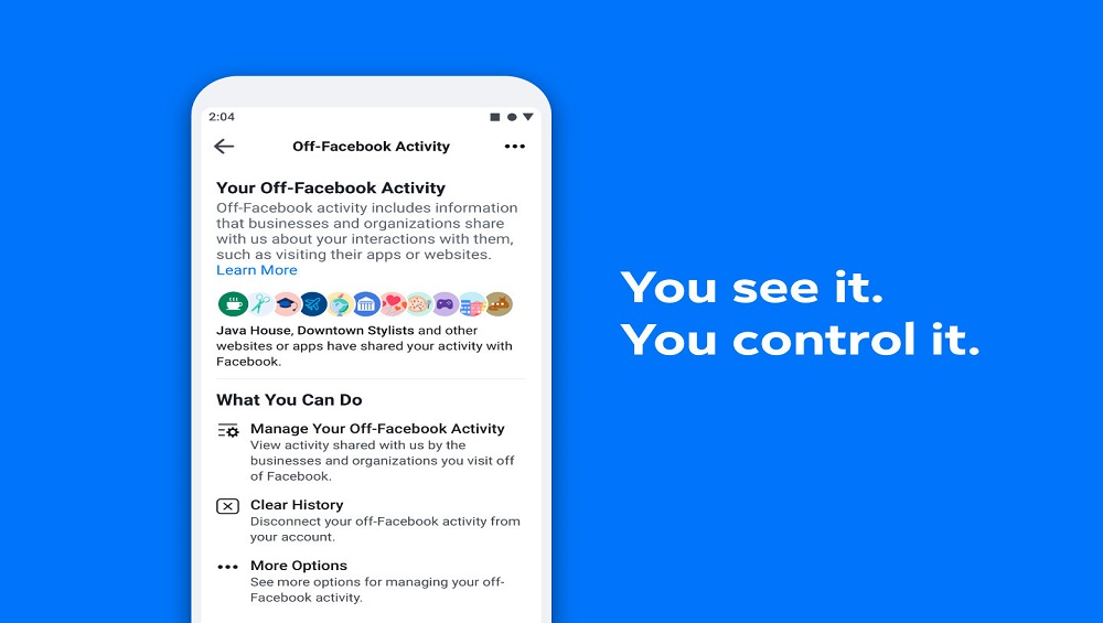 Facebook's Clear History Tool is Live Now