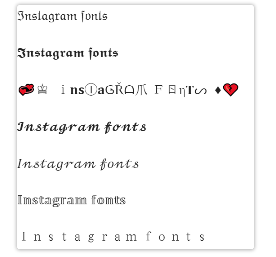 insta font generator