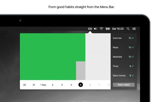 Momentum habit app