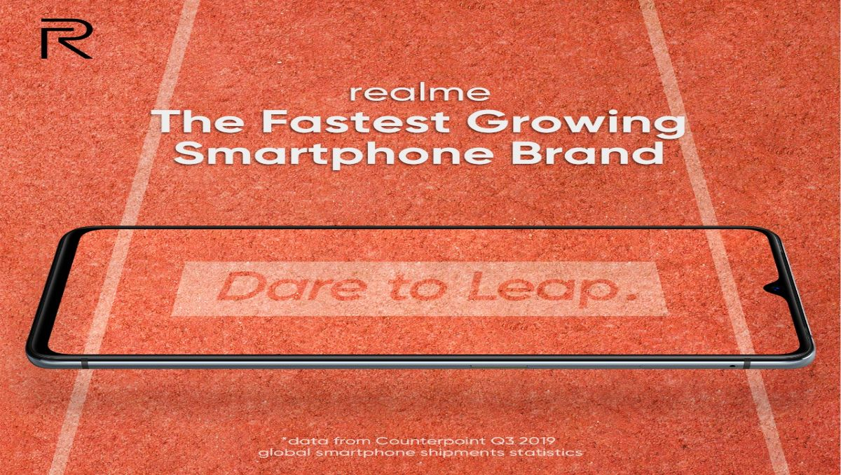 Realme's fast growth