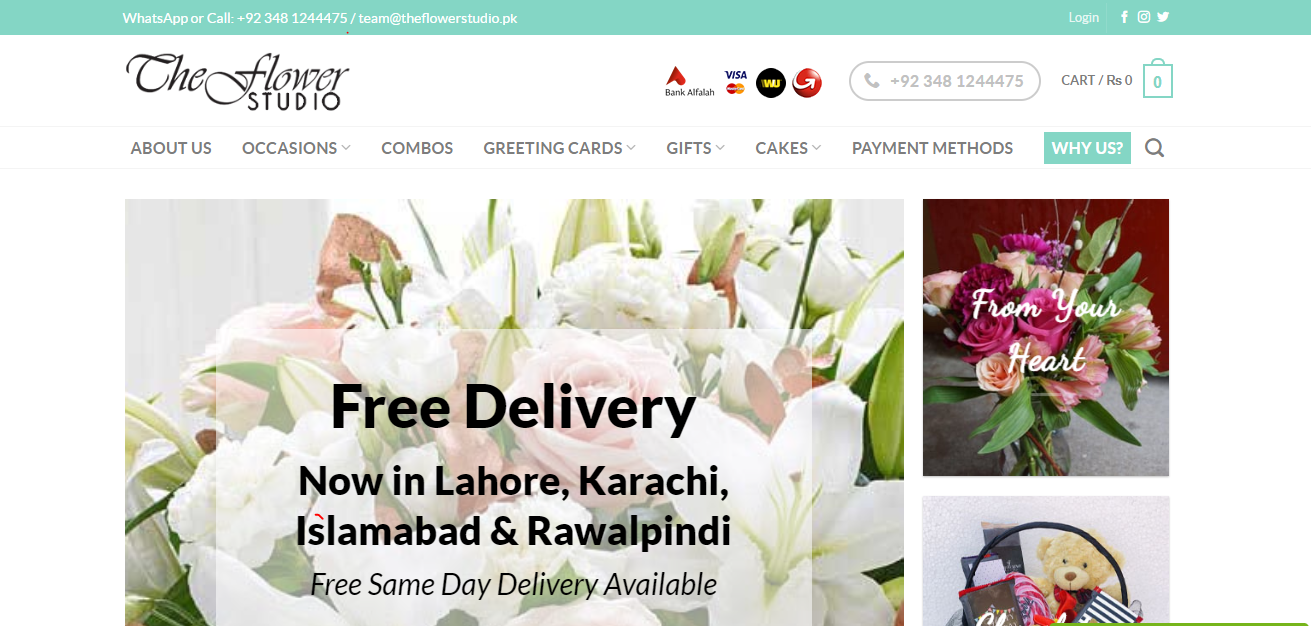 Best Places Online To Get Flowers For Valentine's Day In Pakistan