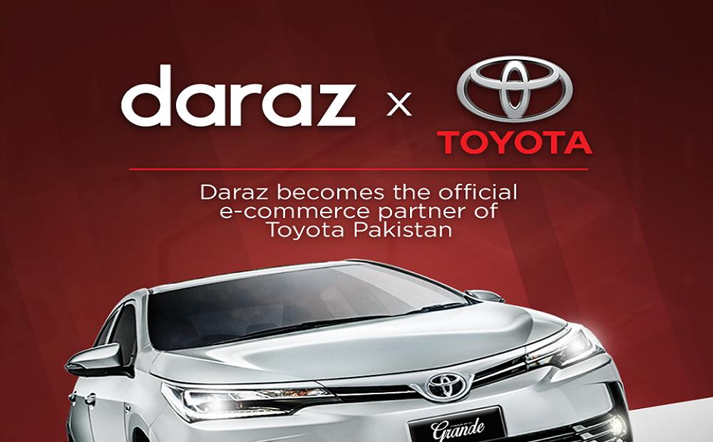 Daraz Becomes Official e-commerce Partner of Toyota Pakistan