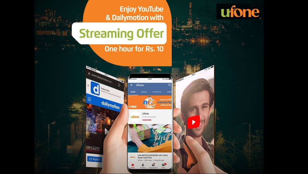 Ufone Streaming Bundle