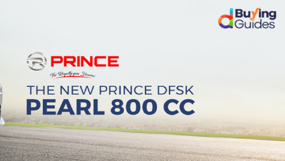 Looking for Comfortable Ride in Affordable Price? Book a Prince Pearl hatchback on Daraz!