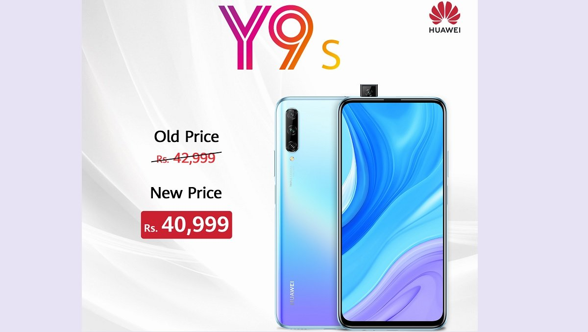 Huawei Y9s Price Dropped