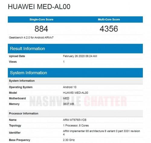 mid-range Huawei Phone