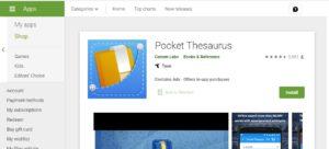 Pocket-Thesaurus