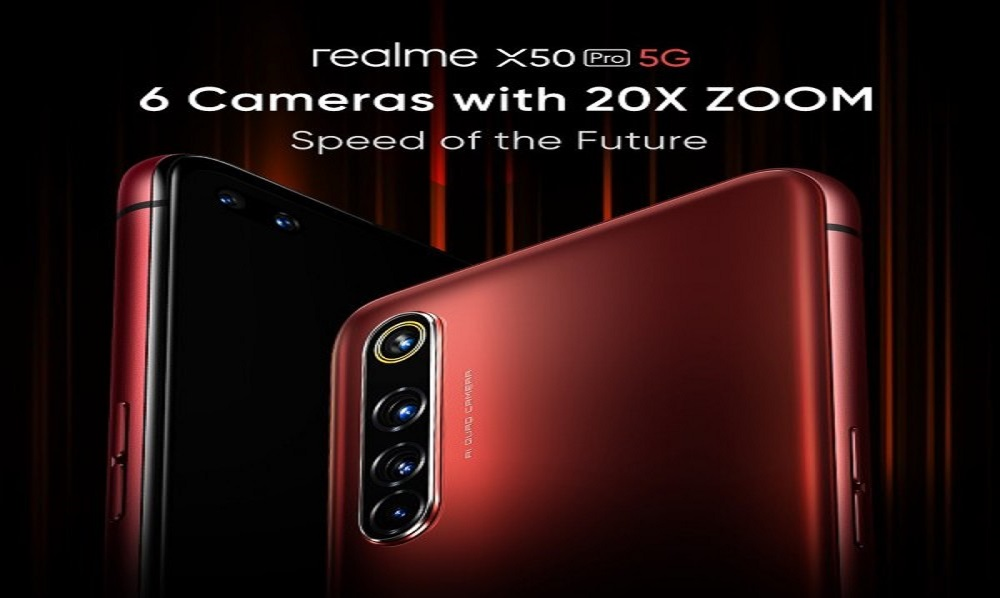 Realme X50 Pro to Come with 20X Zoom Quad Cameras