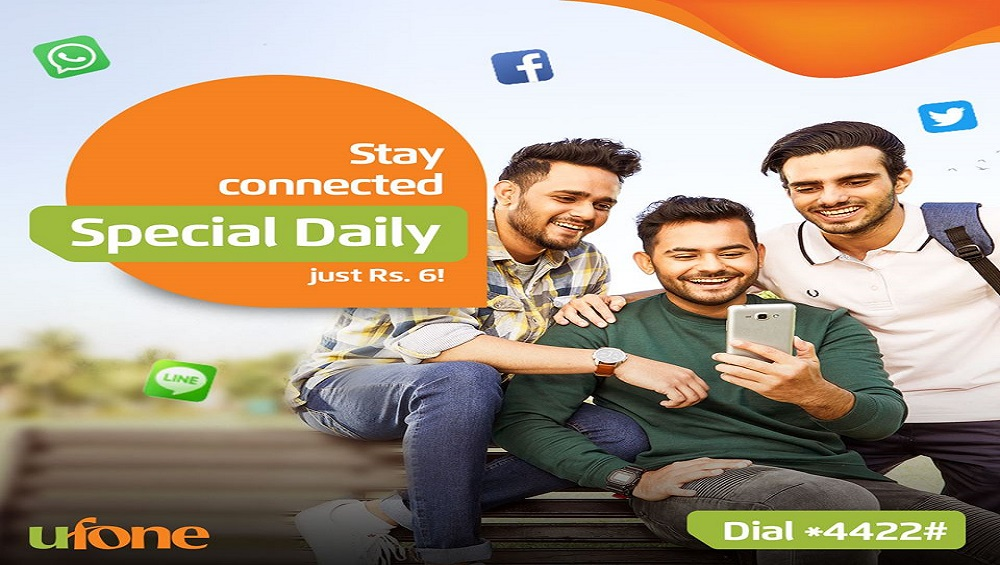 Socialize Your Day with Ufone Special Daily Offer
