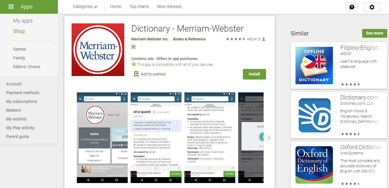 10 Best Free Offline Dictionary Apps For Android in 2020