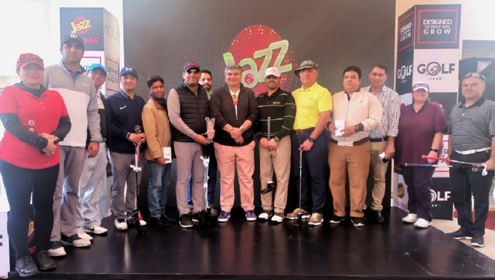 The 2nd Leg of the Jazz Golf Tournament 2020 Takes Place in Islamabad