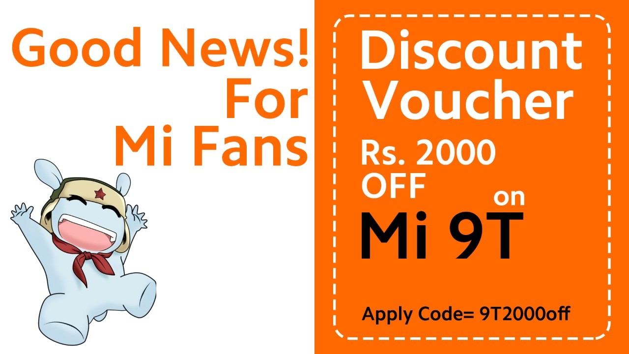 Good News For Xiaomi Fans! Now Get Mi 9T at Flat 2000 Discount from Mistore.pk