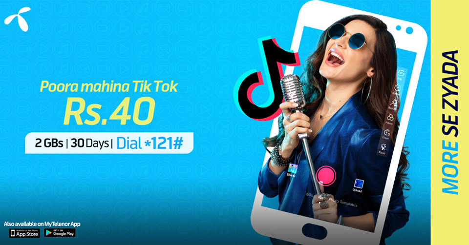 Enhjoy More Se Zada With Telenor TikTok Offer