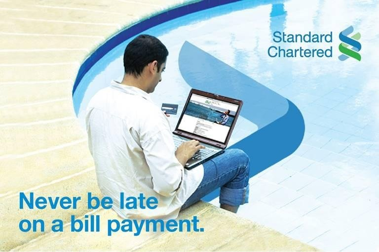 Now Pay Your Bills with Standard Charted Mobile Banking App