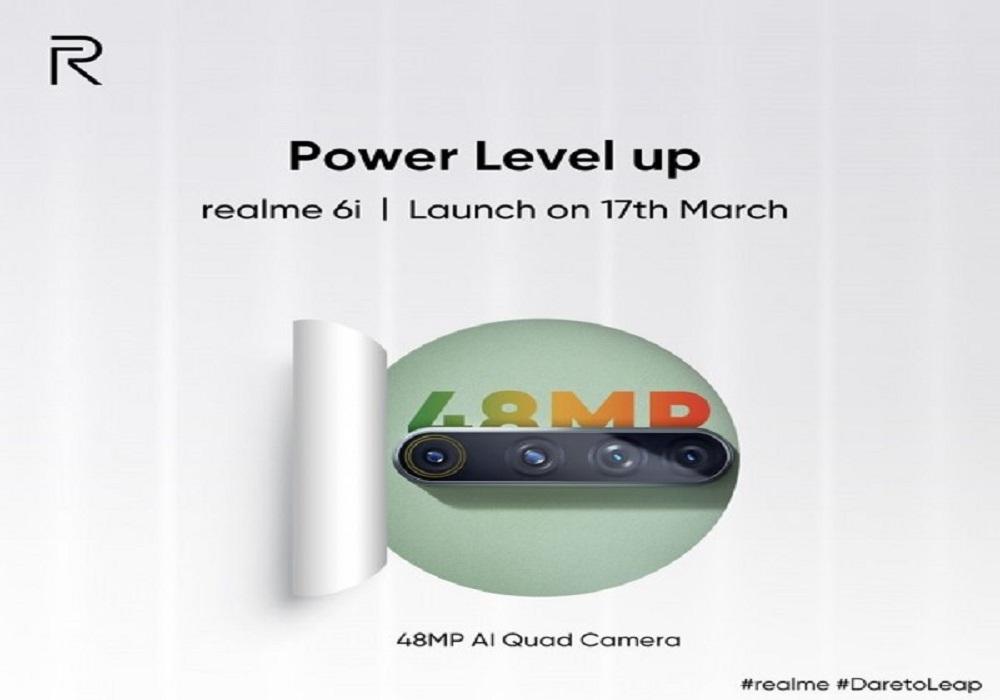 Realme 6i to Feature 48MP Quad Camera