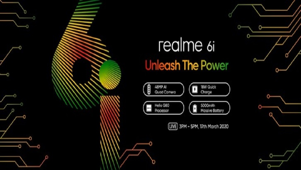 Realme 6i to Sport 16MP Front Shooter & 5,000 mAh Battery