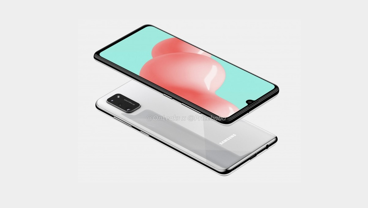 Samsung Galaxy A41 Renders