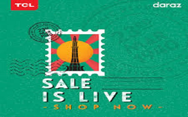 TCL collaborates with Daraz for Pakistan Day Sale 2020 to celebrate the essence of patriotism