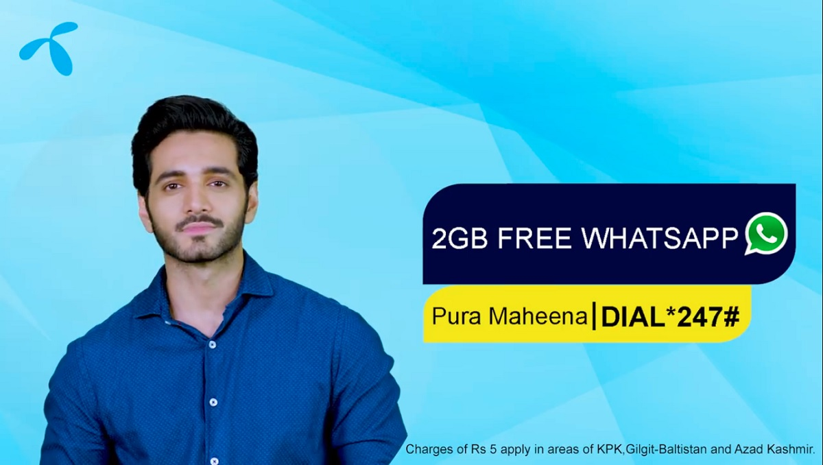Telenor offers free WhatsApp