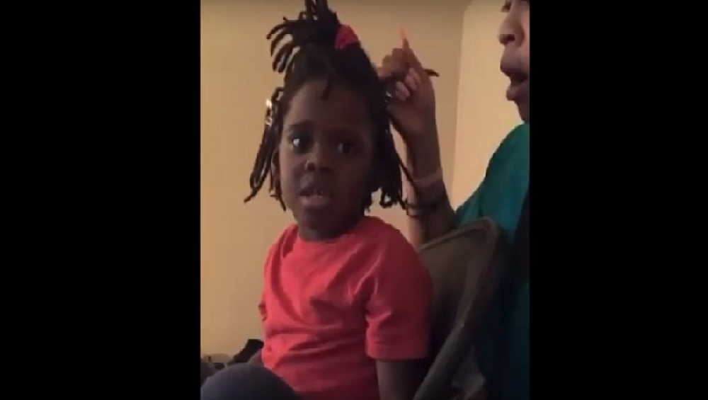 The Heart Breaking Video of a Black Little Girl Goes Viral