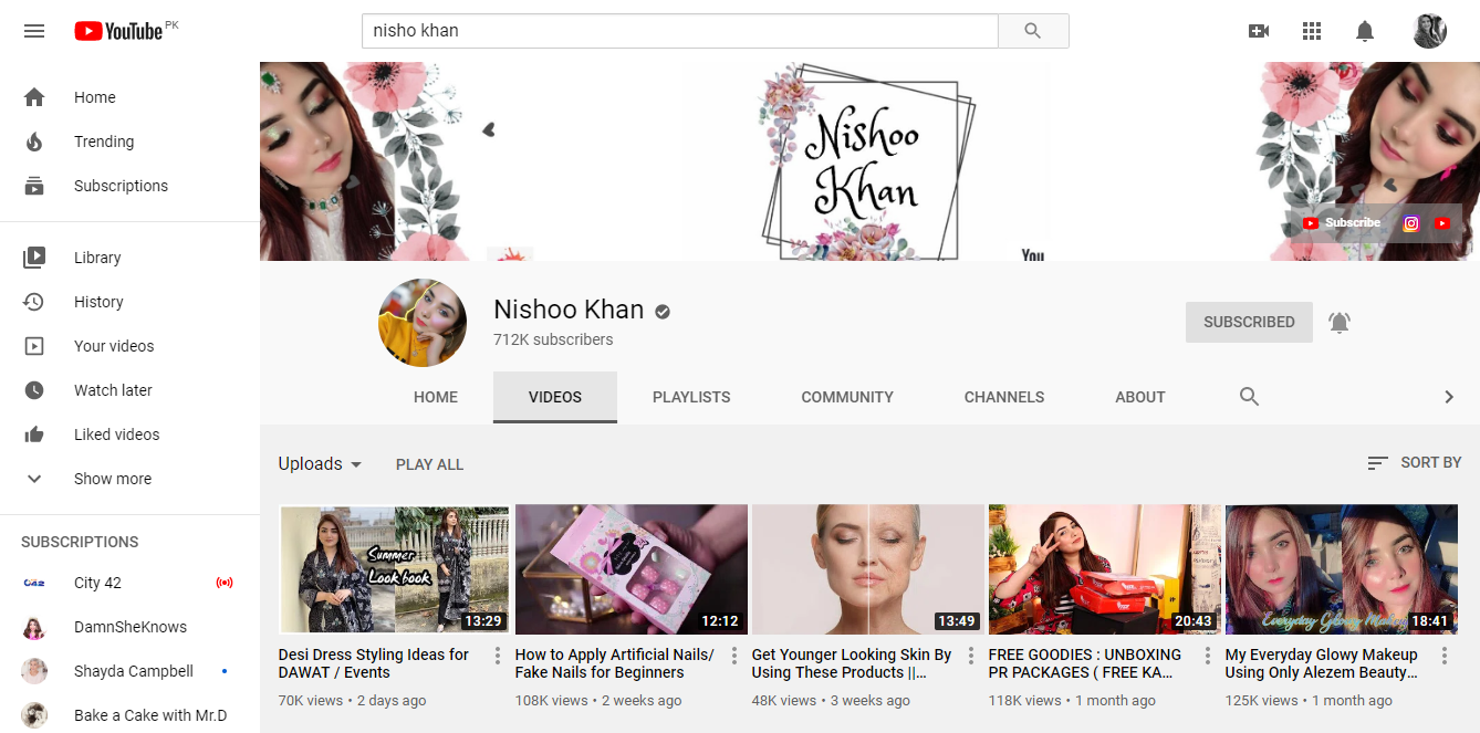 Top Pakistani Makeup Artists On Youtube