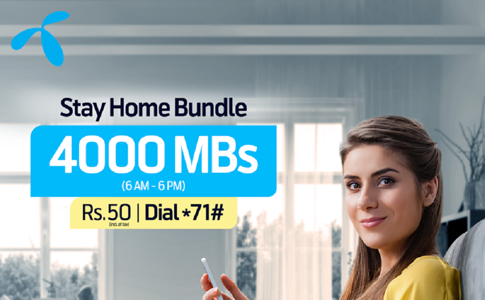 Now Stay Connected with your Loved Ones with Telenor Stay at Home Bundle