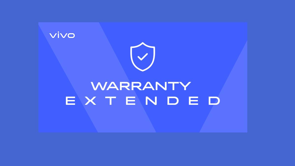 Vivo Extends Warranty