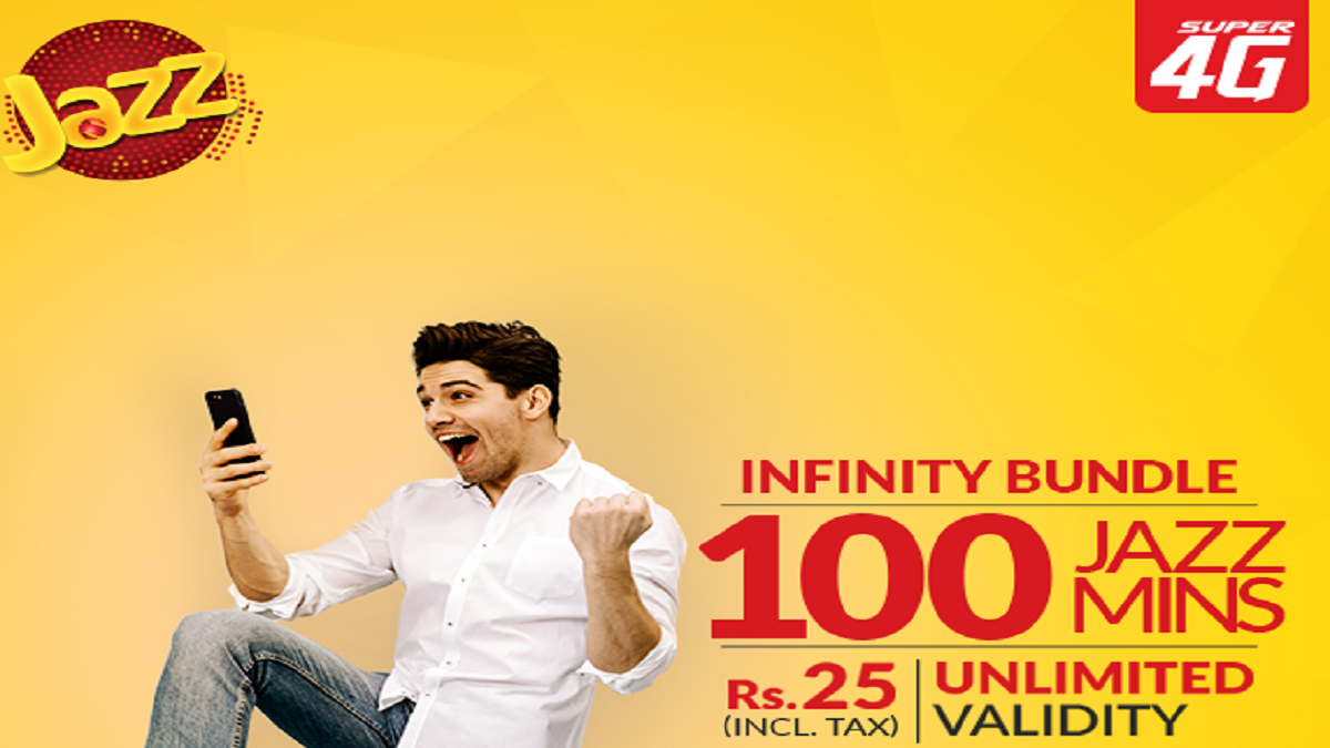 Jazz Prepaid Infinity Bundle Facilitate Users to Make Calls with Unlimited Validity and No Call Setup Fee