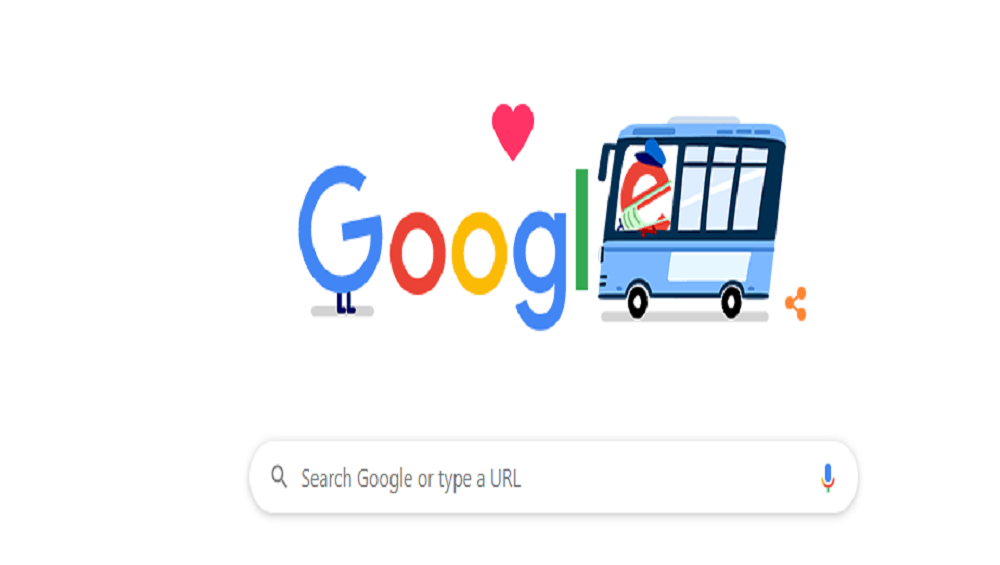Google is Running Thank You Doodle for Public Transportation Workers
