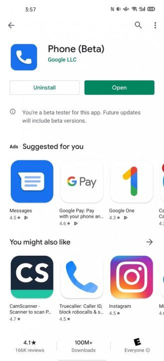 Google Phone App Shows Up on Play Store for Some Phones