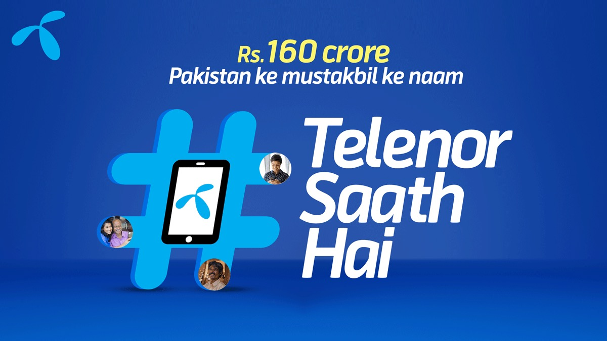 Telenor Continues To Stand With Fellow Citizens By Pledging PKR 1.6 Bn Towards COVID Relief Efforts