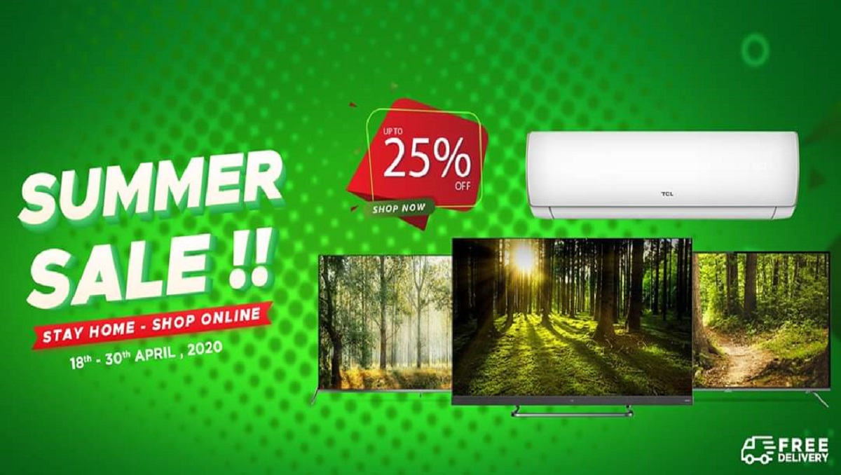 TCL Pakistan Launches Online Summer Sale and Countrywide Delivery
