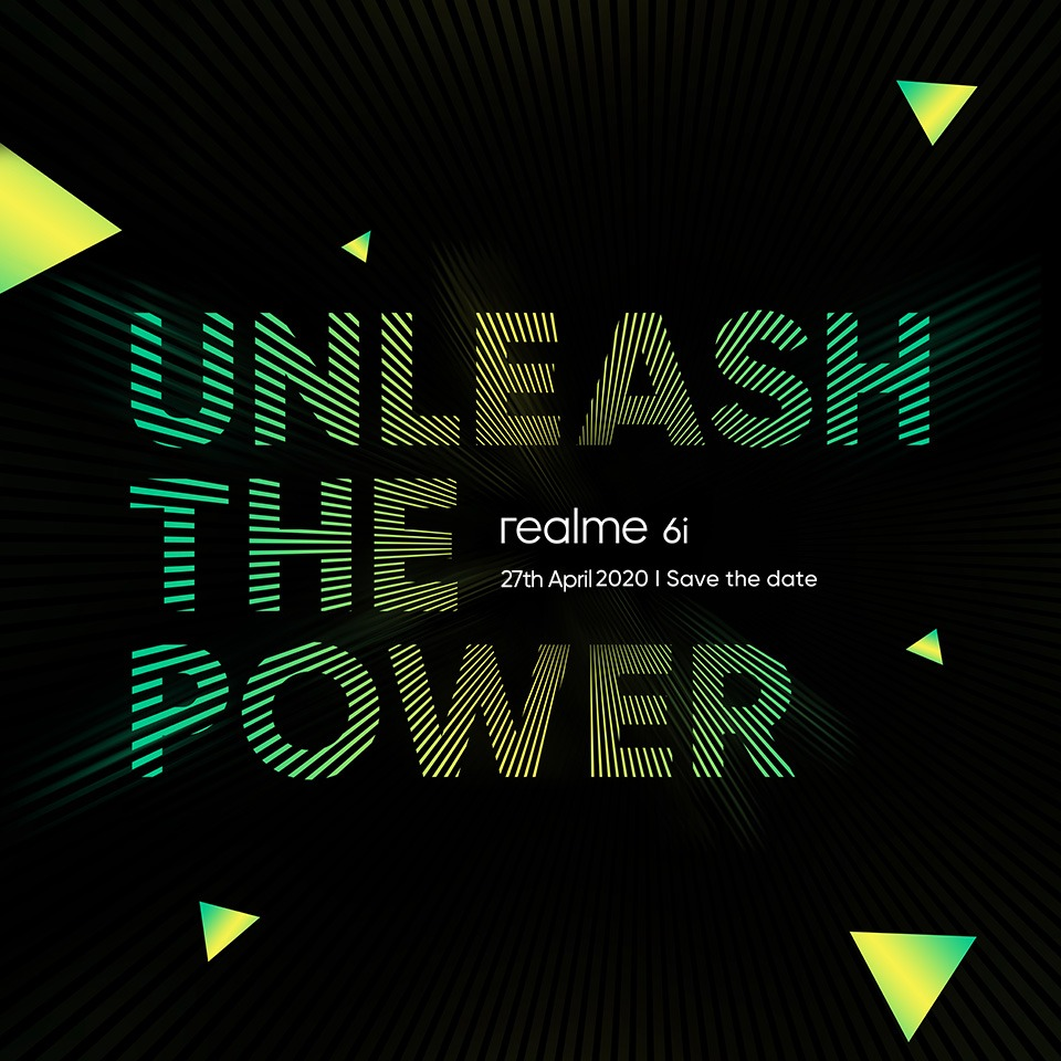 Realme 6 Series Is Here! Kicking Off With World's First Helio G80 Powered Device Next Week