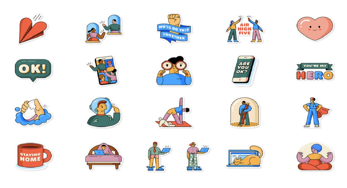 WhatsApp launches Social Distancing Stickers in Partnership with WHO