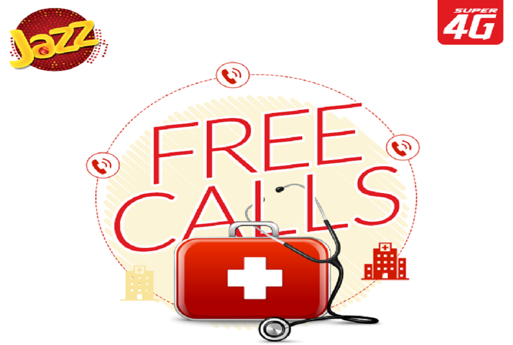 Now Call Government Hospitals and Doctors for Free with Jazz