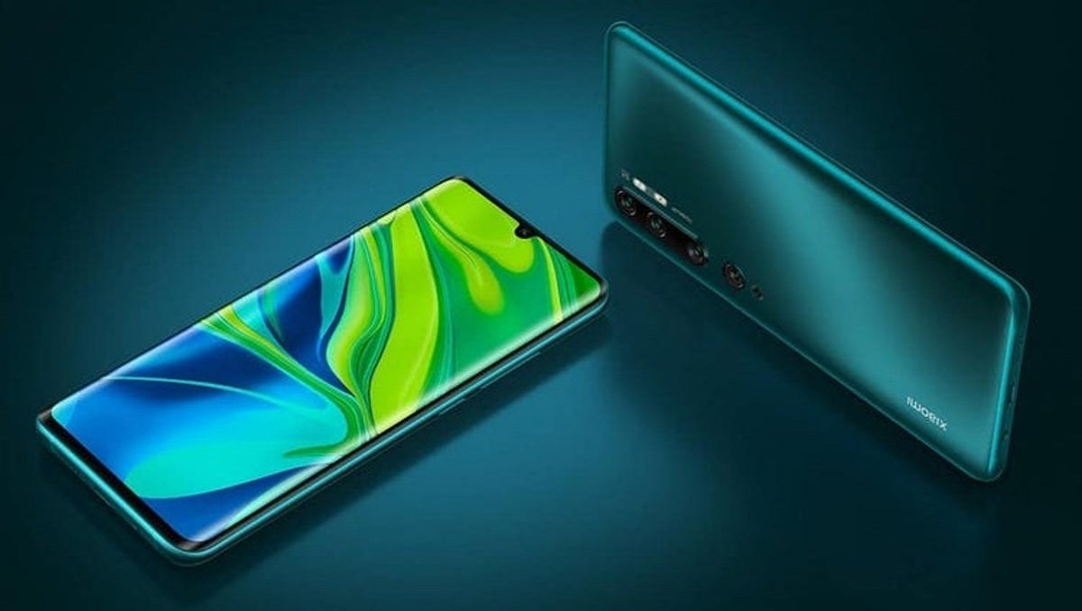 Xiaomi Mi Note 10 Lite launch