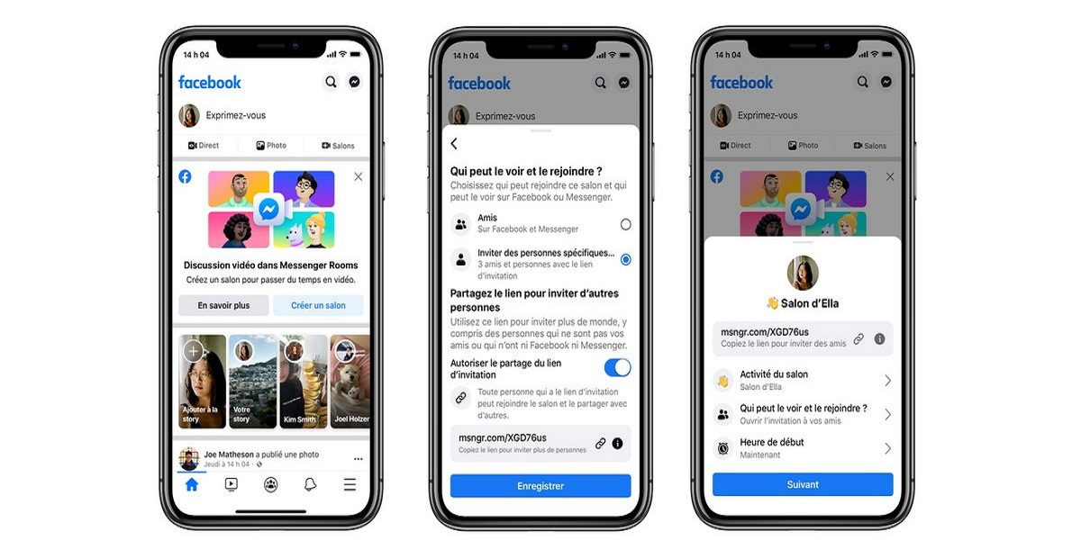 Facebook Launches Messenger Rooms to Keep People Connected Throughout the Globe