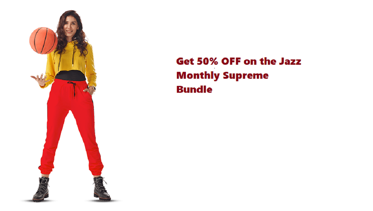 Get 50% OFF on the Jazz Monthly Supreme Bundle